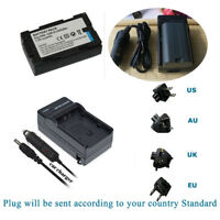 Battery + Charger FOR  Panasonic PV-DBP8A PVDBP8A Camcorder