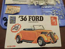 AMT '36 Ford Coupe / Roadster Model Kit ~ Stock or Street Rod