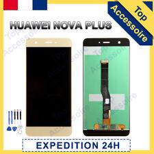 VITRE TACTILE + ECRAN LCD ORIGINAL PRET-A-MONTER POUR HUAWEI NOVA PLUS 2016 OR