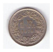 Münze Schweiz 1 Franken 1970