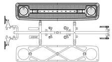 1969 Chevy K5 Blazer Grille/Body Detail AXIAX31549