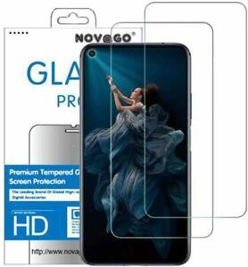 Huawei Honor 20  - Pack de 2 films en verre trempé résistant et solide