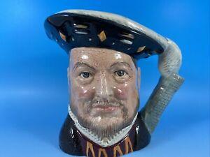 Royal Doulton Large Character Toby Jug Henry VIII D6642
