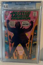 JUSTICE LEAGUE OF AMERICA #65 - CGC 9.4 - JUSTICE SOCIETY OF AMERICA CROSSOVER
