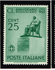 Italy Music Famous Composer Rossini Monument stamp 1942 MNH