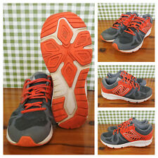 76376d2a0b583 New Balance Boys Shoes Vazee Rush Running Sneakers KJRUSGOG Grey Orange  Youth 5