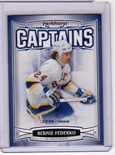 BERNIE FEDERKO 06/07 Parkhurst CAPTAINS Insert Card #207 St Louis Blues /3999