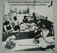 Traffic- Welcome To The Canteen (Vinyl LP 1971) VG+/EX UAS-5550