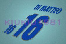 Italy Di Matteo #16 EURO 1996 Awaykit Nameset Printing