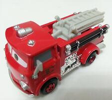 Mattel Disney Pixar Cars 2 Autos Red Fire Truck Spielzeug Auto 1:55 Frei