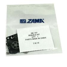 GENUINE Zama Full RB-107 Rebuild Kit RB107