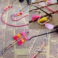 Ladies Fashion Non-slip  Sunglasses Spectacle Beads Chain Strap Glasses Cord,