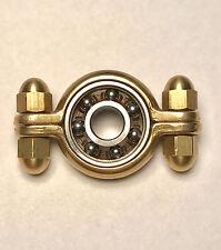 Brass Munsen Ring Hand Spinner Torq Bar Fidget Toy ADHD Anxiety EDC