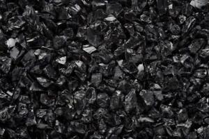 """BLACK Multi-Purpose Premium Decor Aquarium, Fire Glass Rock 1/4""""-1/2"""" Crushed"""
