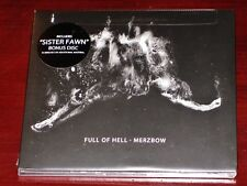 Full of Hell / Merzbow Split Sister Fawn 2 CD Set 2014 Bonus Disc Digipak