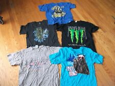 BOYS SHIRTS  SZ LARGE DRAGON, MONKEY, MONSTER, LOT    clearence reduced 1X112