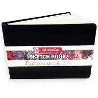 Royal Talens – Art Creation Hardback Sketchbook – 80 Sheets – 21x14.8cm - Black