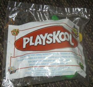 2004 Playskool Under 3 Toddler Wendy's Toy - Green Dinosaur