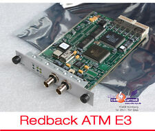 NETWORKS CARD FROM HIEND REDBACK ROUTER ATM E3 KARTE ST53c/STM1/DS3/E3 MIT BNC