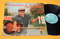 ADRIANO CELENTANO LP 1°ST ORIG 1964 (22-9-64)EX+ COLLEZIONISTI LAMINATED COVER
