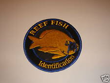 REEF Fish Identification Embroidered Iron-on NEW Patch