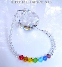 m/w Swarovski 30mm Mozart Ball Long Chakra Strand SunCatcher Lilli Heart Designs
