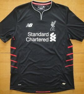 Liverpool 2016/17 Away New Balance Size L Football Shirt Jersey