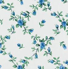 Klebefolie Möbelfolie Rombo Blumenranken blau - 45 cm x 200 cm Selbstklebefolie