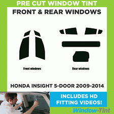 Pre Cut Window Tint - Honda Insight 5-door Hatchback 2009-2014 - Full Kit