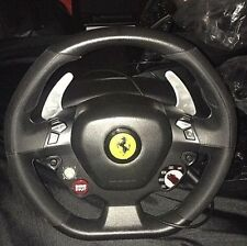 Ferrari Thrustmaster Steering Wheel and Pedals for Xbox 360 and PC