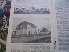 1908...Wohnungswesen 21 / Hannover Blumenthal