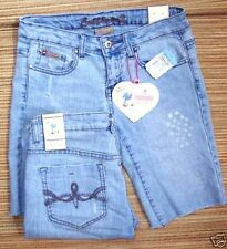 Mid-Rise Denim Regular 8 Shorts for Women