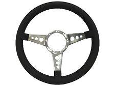 Volante S9 Series Premium Leather 9 Bolt Steering Wheel | Tri Spoke with Holes