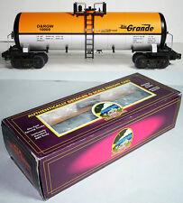 MTH MT-9201L DENVER & RIO GRANDE O SCALE TANK CAR #10009 IN ORIG. BOX!