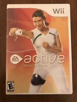 Wii Active: Personal Trainer - EA SPORTS - Rated E - 2007