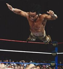 jimmy superfly snuka 8x10 photo wrestling picture wwf off top rope