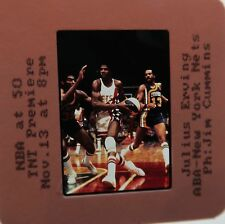 Julius Dr J Erving ABA NEW YORK NETS DON FREEMAN INDIANA PACERS ORIGINAL SLIDE 2