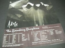 SMASHING PUMPKINS June 30 - August 8, 1998 TOUR DATES Promo Display Ad mint cond