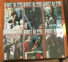 First Blood Jennifer Blood 1-6 (6 Books) Comic Book - B32-78