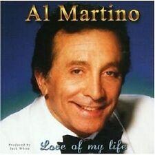 "AL MARTINO ""LOVE OF MY LIFE"" CD NEW+"