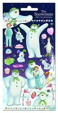 Paper Projects SNOWMAN & SNOWDOG reusable Foil Craft Stickers Age 3+