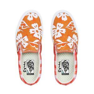 NEW Vans x Ines Comfycush Slip-On Shoe Hawaii Check UNISEX 8.5 Mens/ 10 Women's