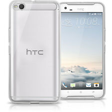 Funda TPU Gel Carcasa para HTC One X9 (2016) Cubierta Cover + Prot de Pantalla