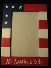 4th of July Fourth of July America Military custom patriotic picture photo frame
