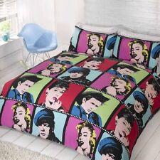 Parures et housses de couette contemporains en polycoton pour chambre à coucher
