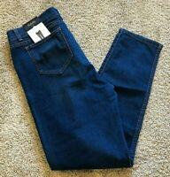 NWT Womens Dark Azure Blue Rafaella Weekend Denim Skinny Jean Size 16
