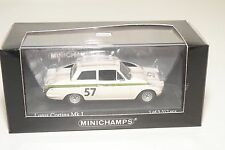 . MINICHAMPS FORD LOTUS CORTINA MKI MK1 CRYSTAL PALACE 1964 CLARK MINT BOXED