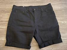 Levi's 511 Slim Fit Cut-off Men's Shorts Black 36555-0295 Size 38