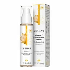DERMA E Vitamin C Concentrated Serum with Hyaluronic Acid 2oz Expires 3/23