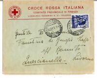 1949 - Magnifico - lire 20 - Sassone  608 - isolato per Quercianella  nel 1949